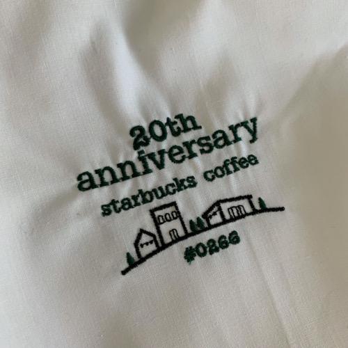 周年記念シャツ